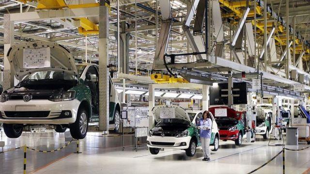 números da indústria automotiva