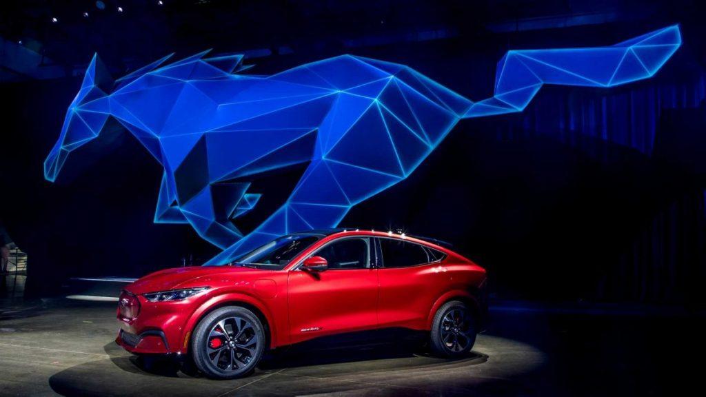 Ford Mustang elétrico prova que eficiência é seu forte