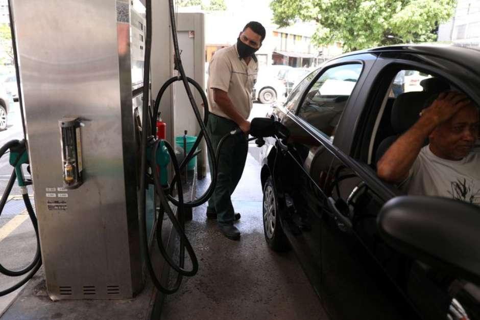 Preços da gasolina e do diesel