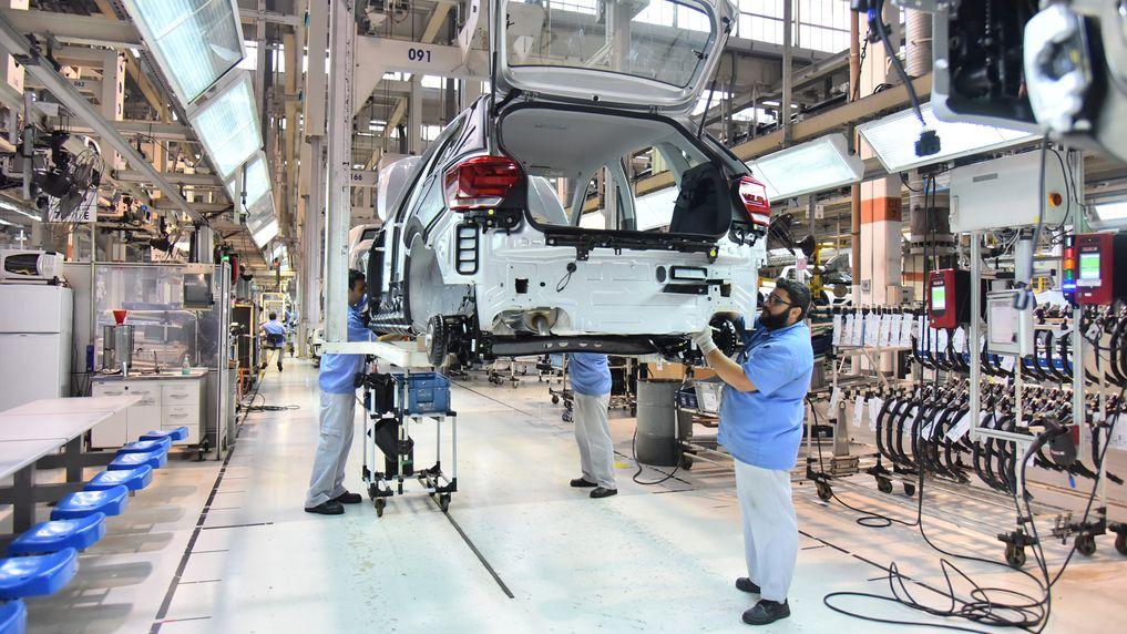 Fábricas da VW