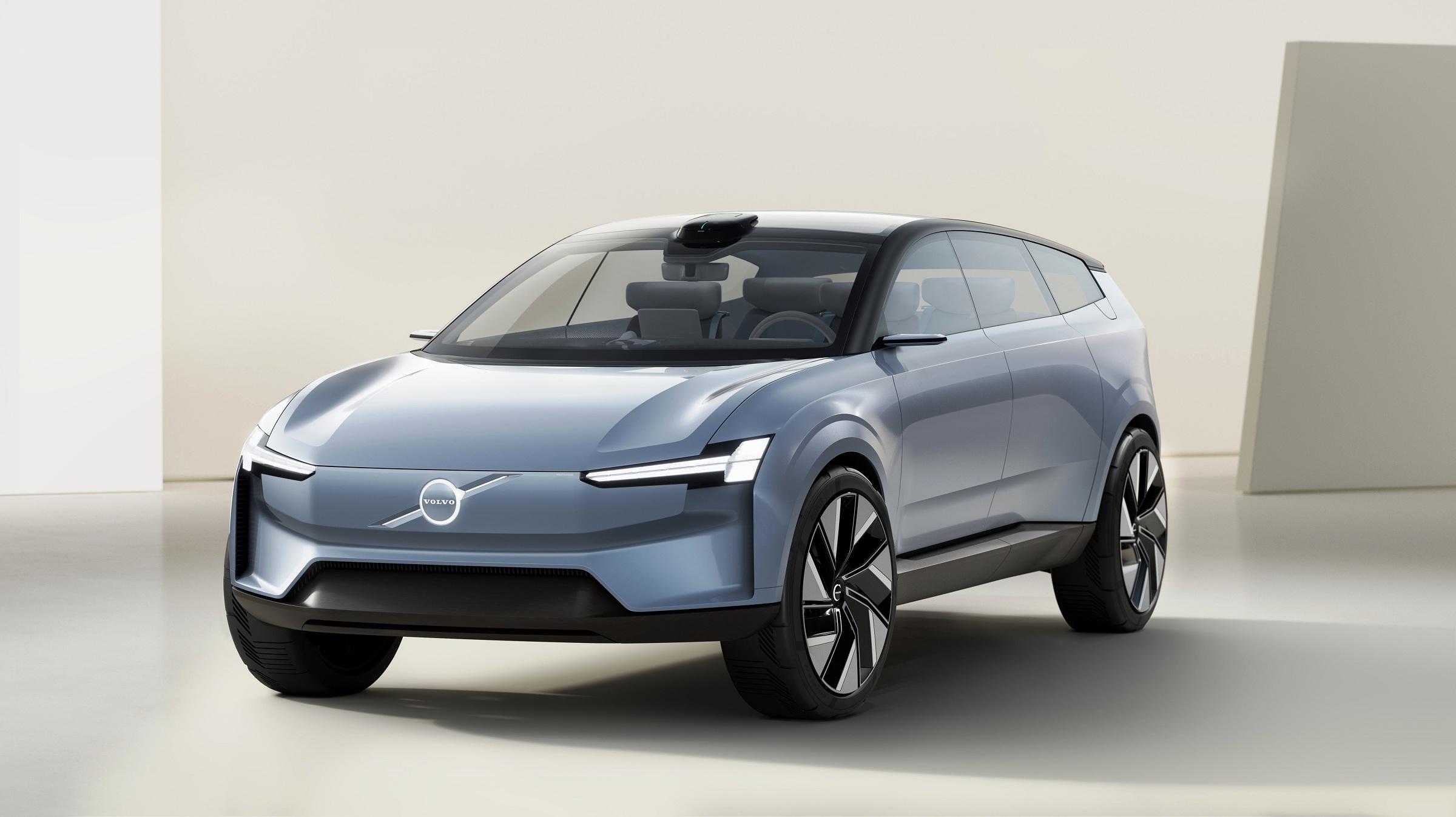 Carro-conceito da Volvo antecipa visual do novo XC90