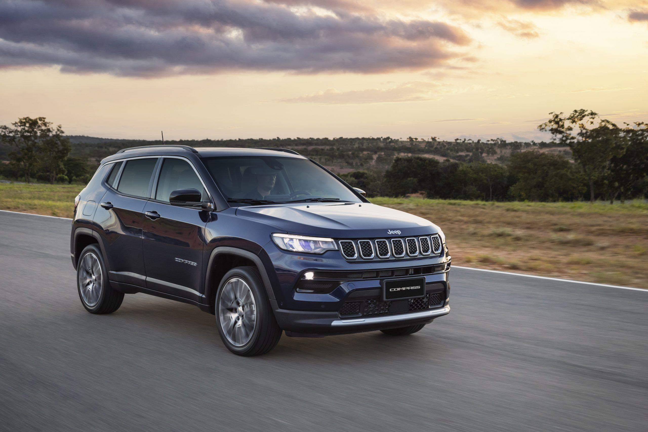 Jeep Compass ficou com a quarta colocação em agosto,