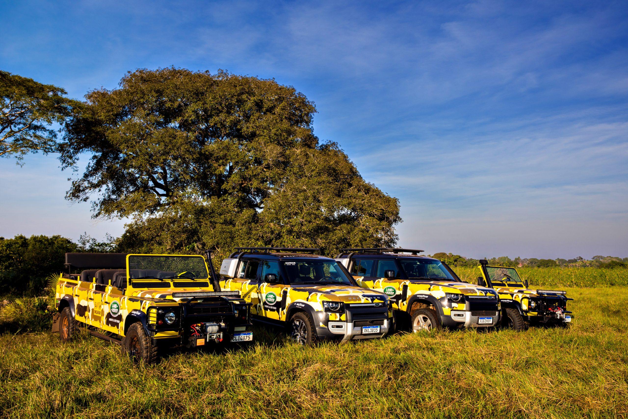 Carros da Land Rover são usados em projeto ambiental; veja os detalhes
