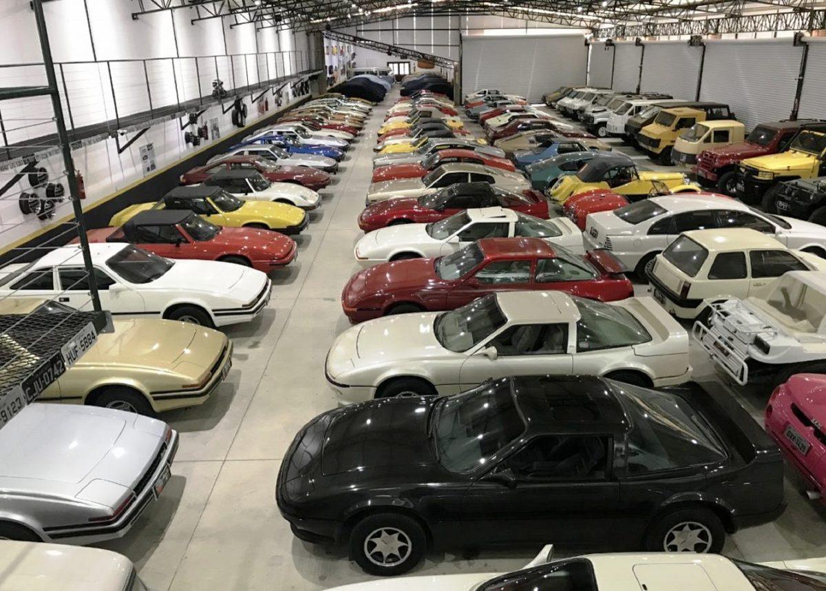 Leilão de carros antigos oferece diversos clássicos brasileiros