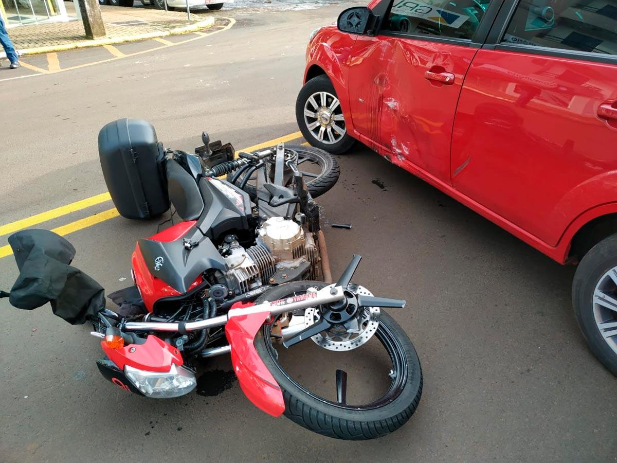 Acidentes e mortes com motos