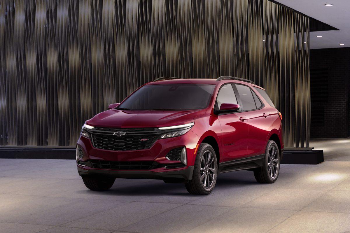 carros novos da Chevrolet