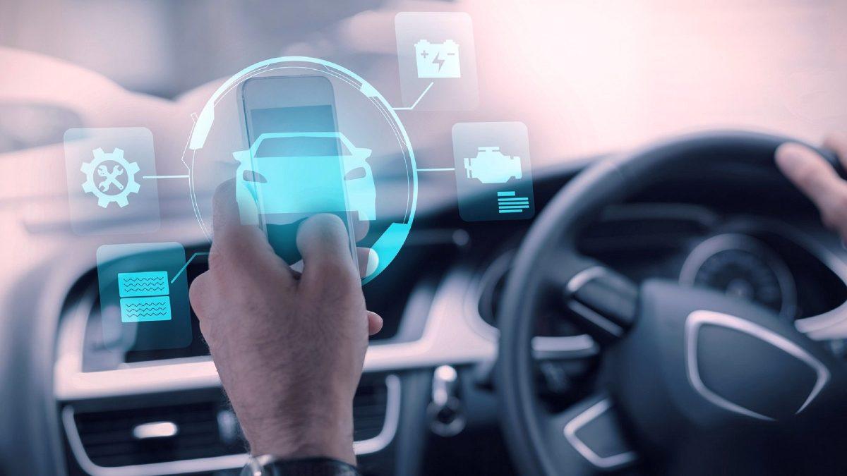 carros e smartphones estão cada vez mais integrados