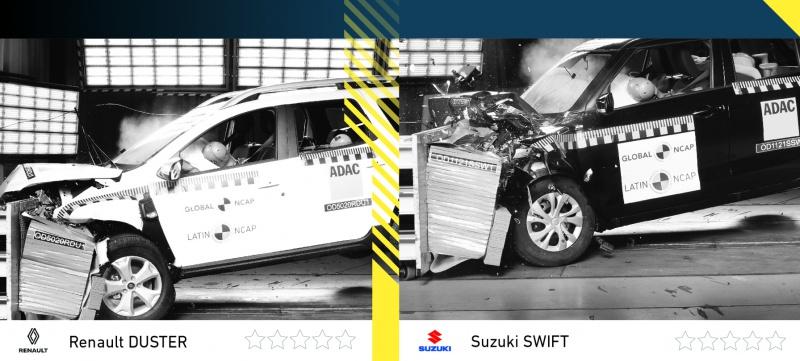 New Duster e Suzuki Swift