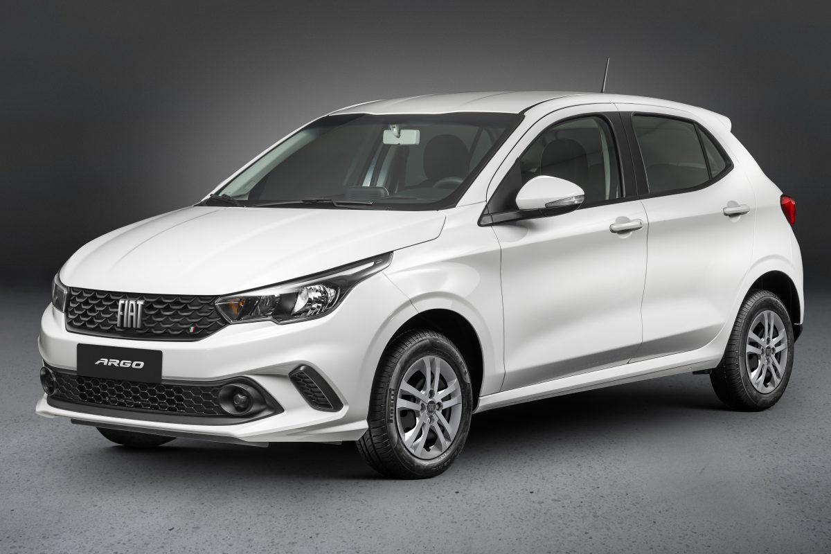 Fiat Argo ficou em 2º lugar nas prévias dos carros mais vendidos em agosto