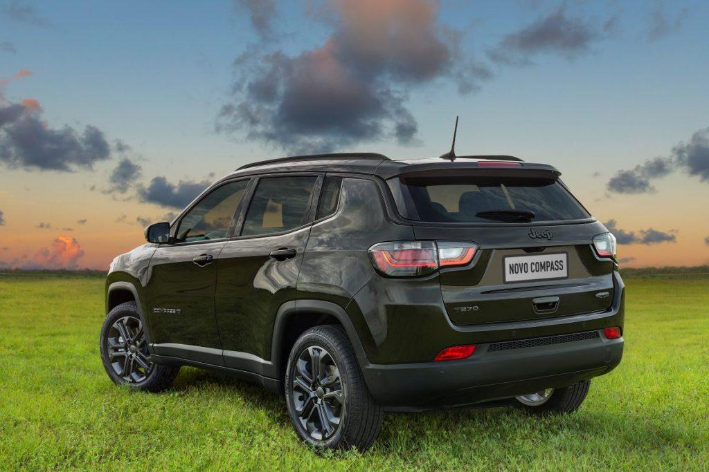 Jeep Compass fica em 4º no ranking geral e em 1 º entre os SUVs médios