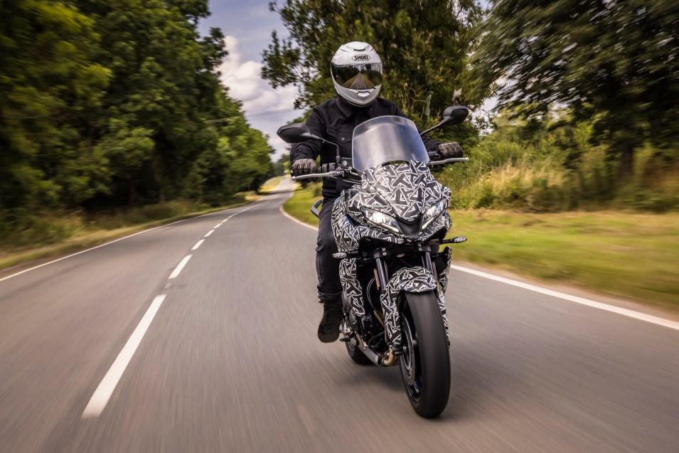 nova motocicleta