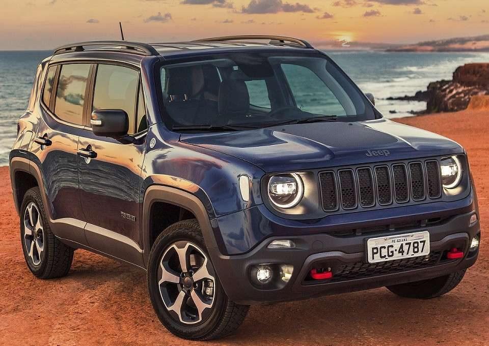 Jeep Renegade fica em quinto lugar em agosto nos mais vendidos