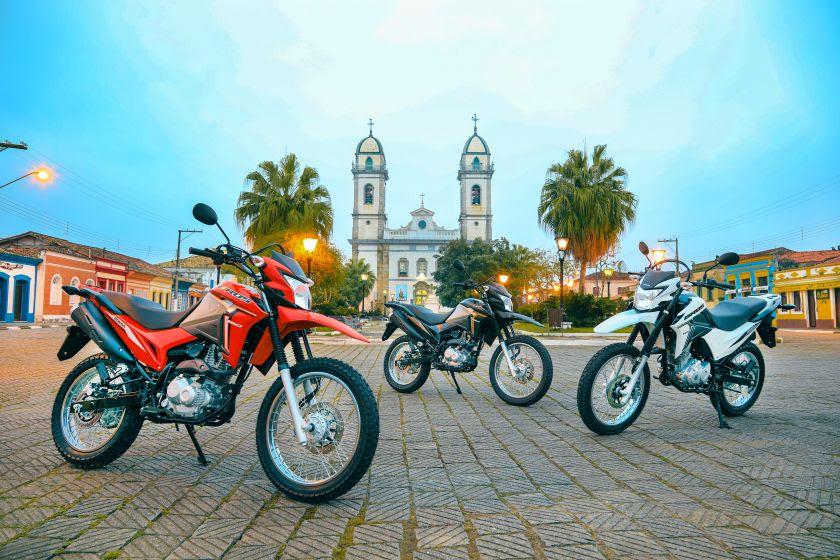motos honda são as mais vendidas no Brasil, mas são as mais roubadas também