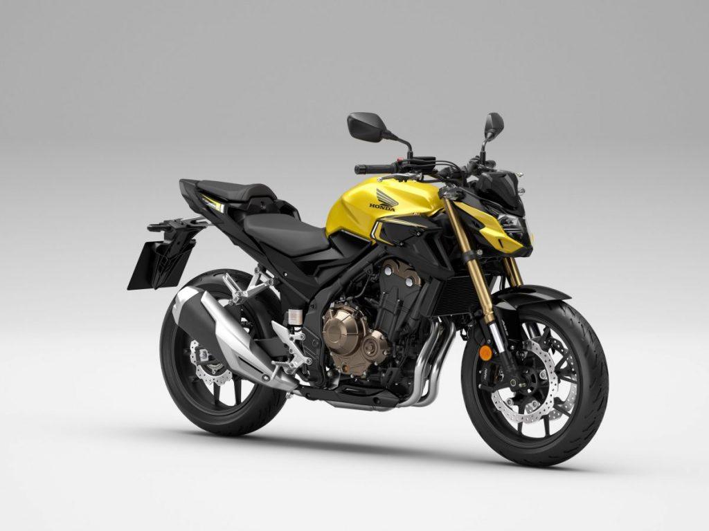 Nova linha 2022 da Honda CB 500 é comercializada na Europa