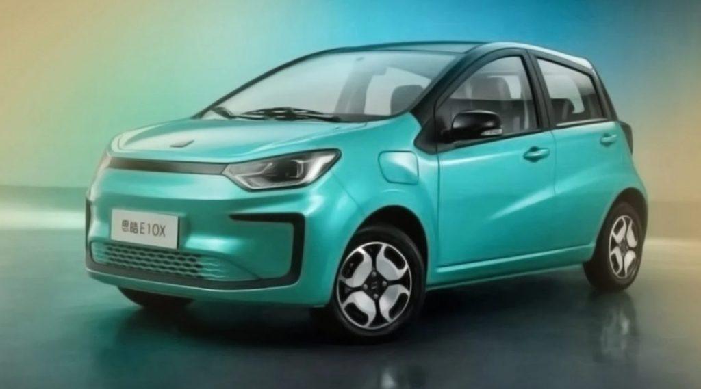 O JAC e-JS1 será o carro elétrico mais barato do Brasil