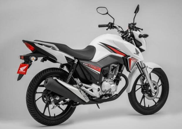 Entre as motos mais roubadas, a Honda CG 160 é a líder