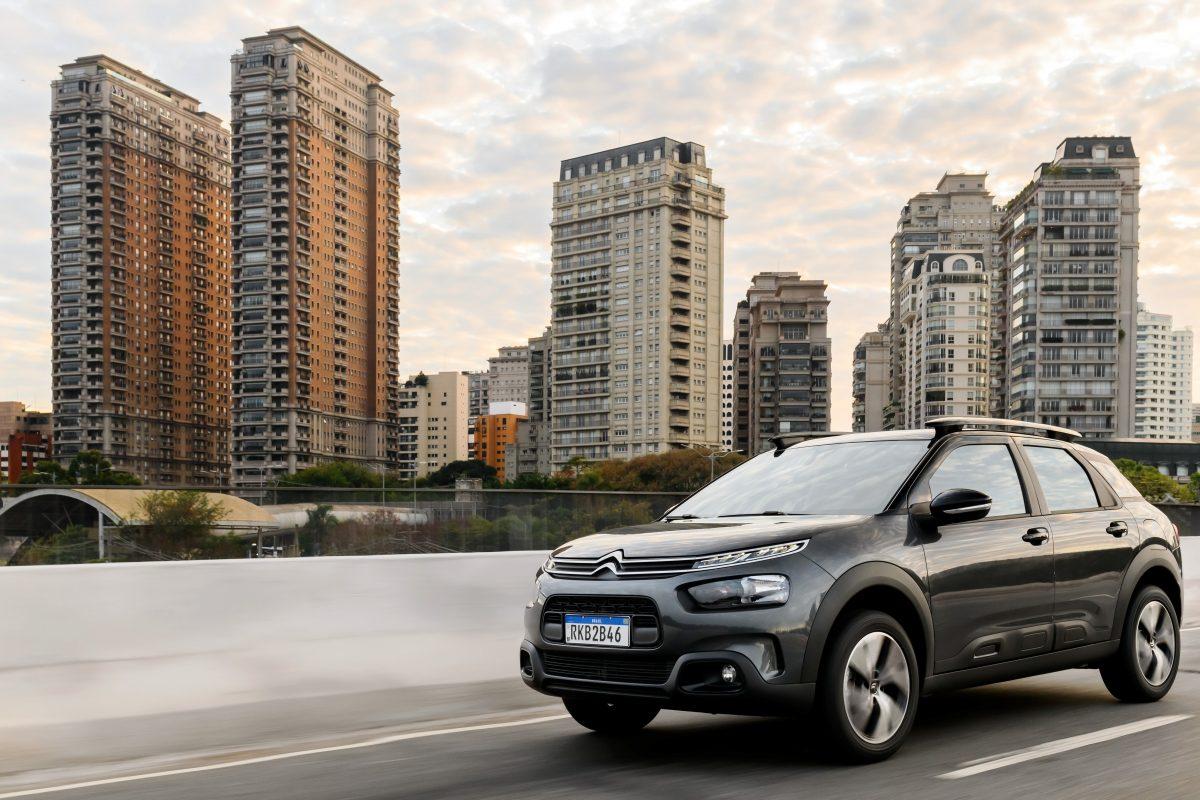 C4 Cactus é líder da Citroën em vendas no seu segmento, os SUVs