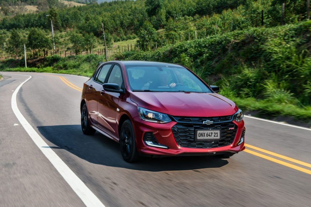 Chevrolet Onix RS não está entre os 50 modelos mais vendidos de agosto