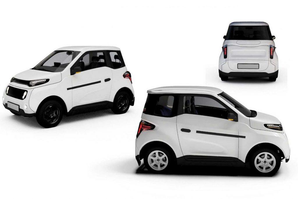 O carro elétrico Zetta promete ser o mais barato do mundo