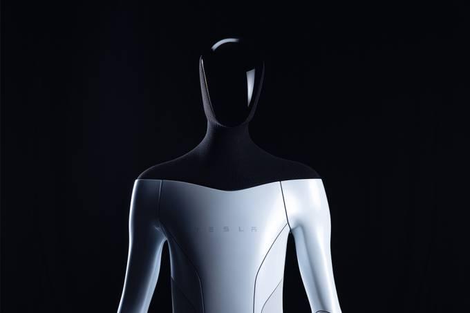 Carros autônomos da Tesla dividirão tecnologia com robô humanoide