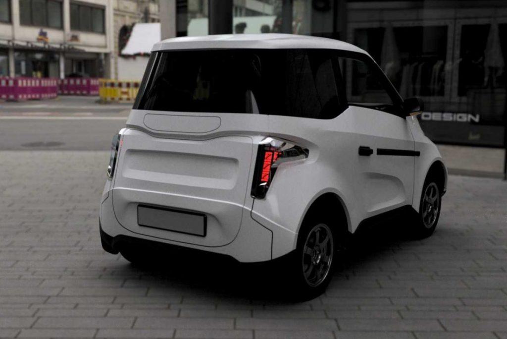 O carro elétrica Zetta é um projeto do governo russo