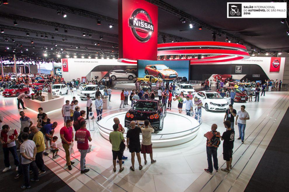 Salão do Automóvel de São Paulo pode acontecer em 2022