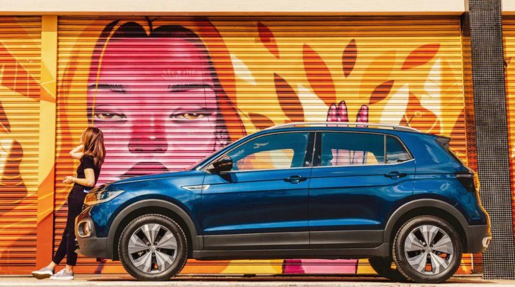 VW T-Cross 2022 parece, realmente, seguir o VW Taos, conforme a Volkswagen