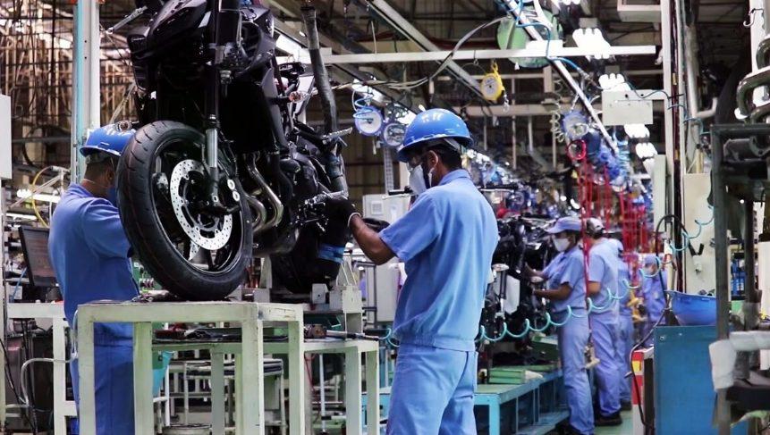 Motos Yamaha têm produção paralisada temporariamente