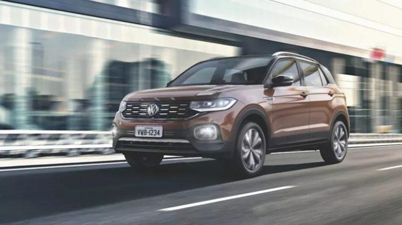 Outro item, que é sucesso no VW Taos, está também nas versões Comfortline e Highline T-Cross - que é o carregamento de smartphone por indução