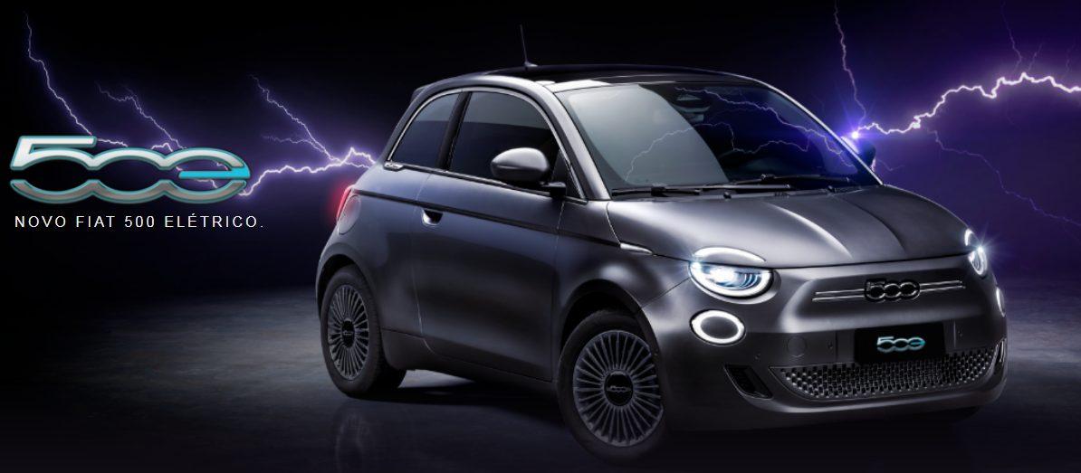 elétrico Fiat 500e 2022