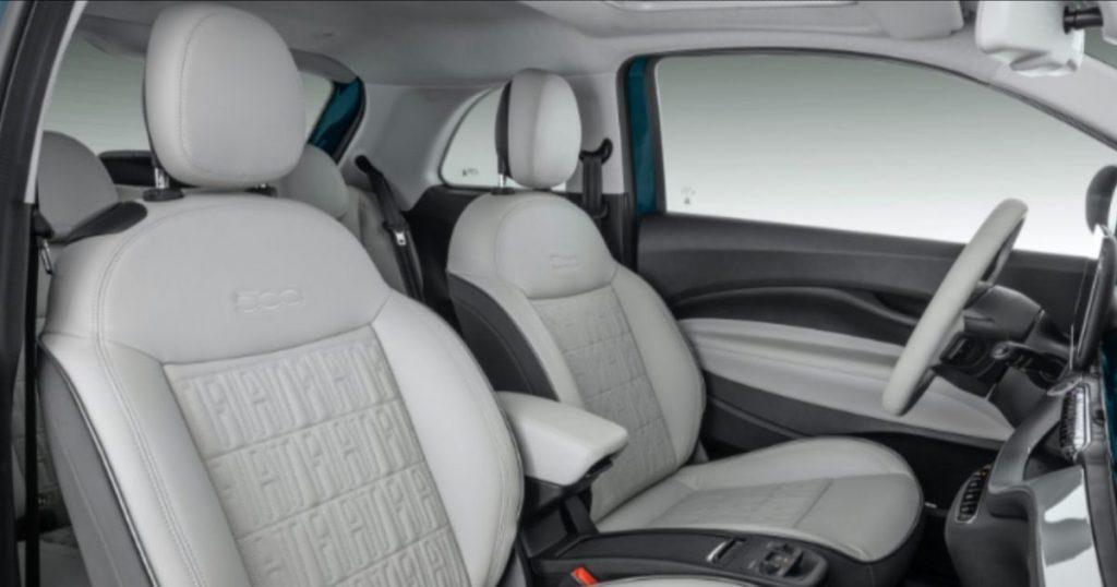 Fiat 500e recebeu alguns centímetros a mais, oque amplia o seu espaço interno