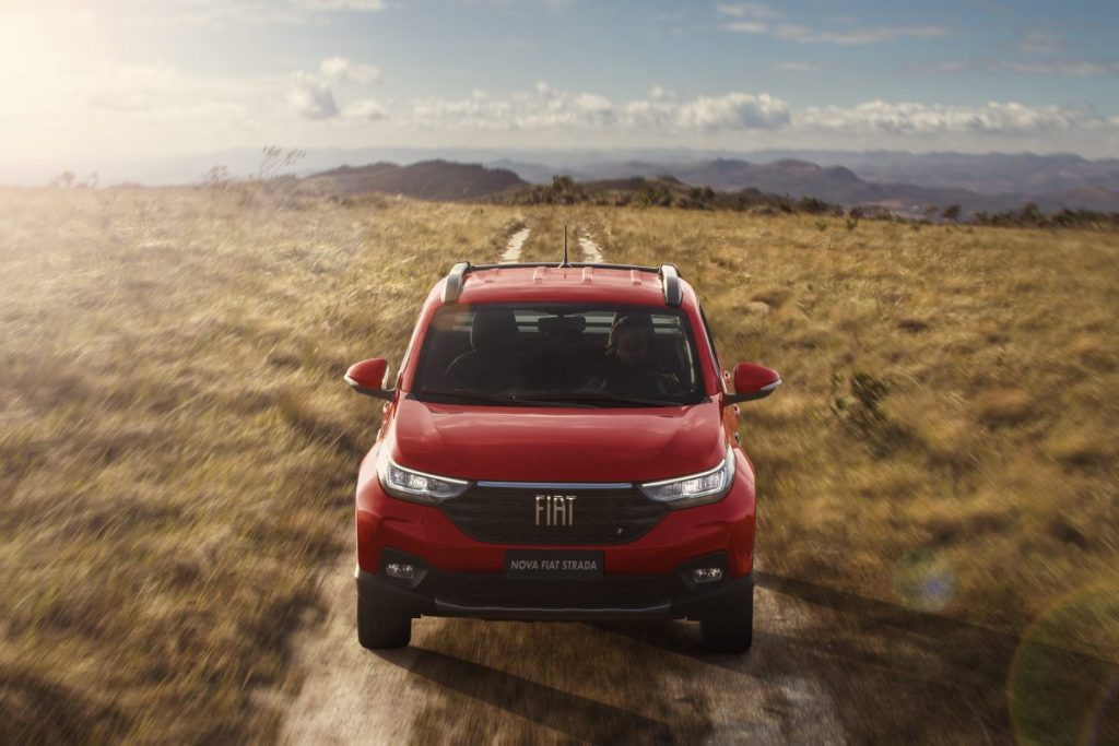 Fiat Strada é líder no segmento e o modelo mais vendido no país