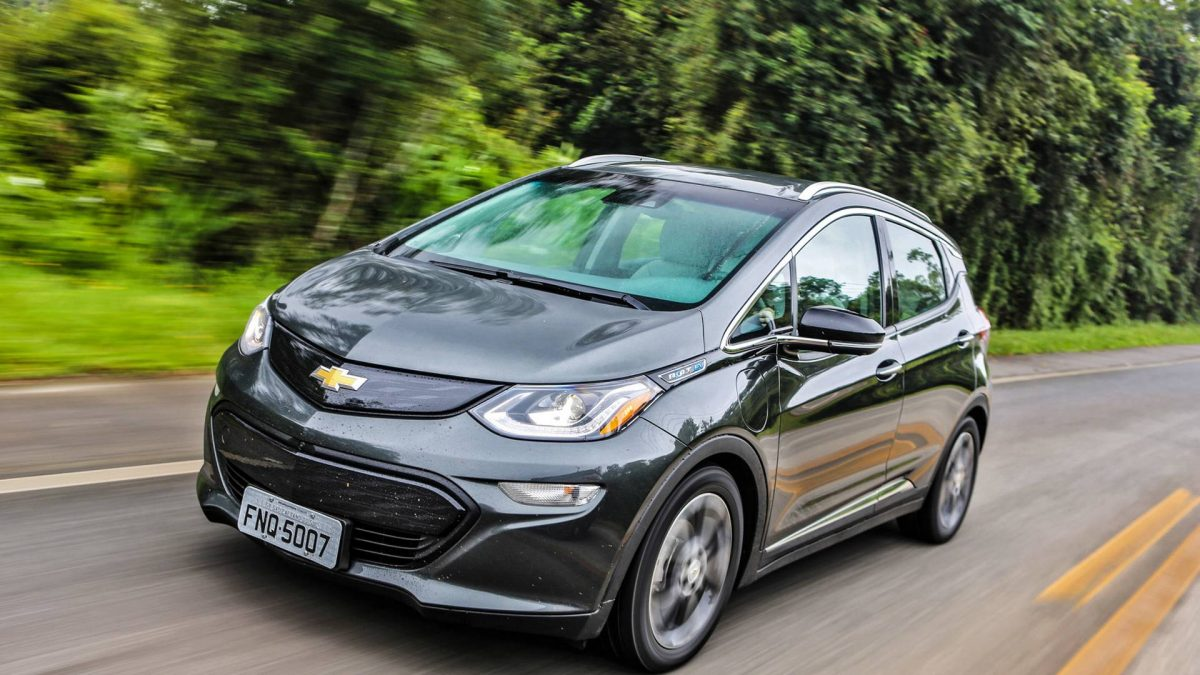 Chevrolet Bolt recall por problemas na bateria de alta tensão