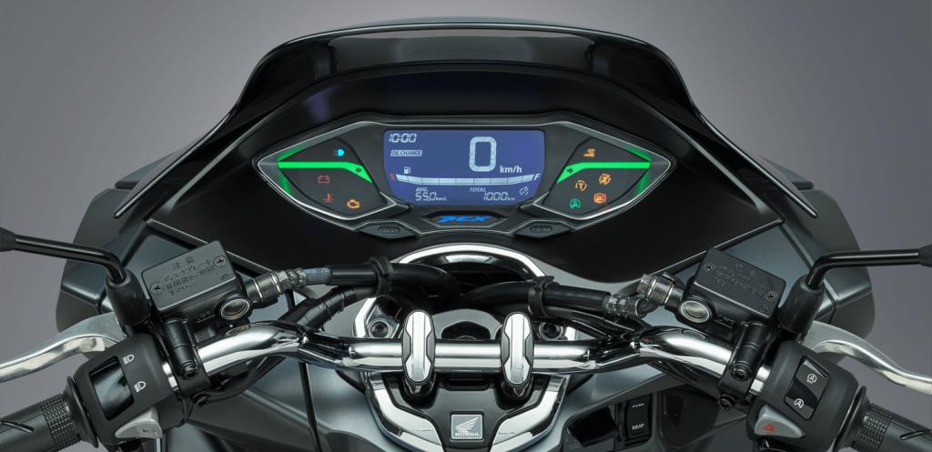 a Honda PCX foi a primeira motocicleta híbrida do mundo
