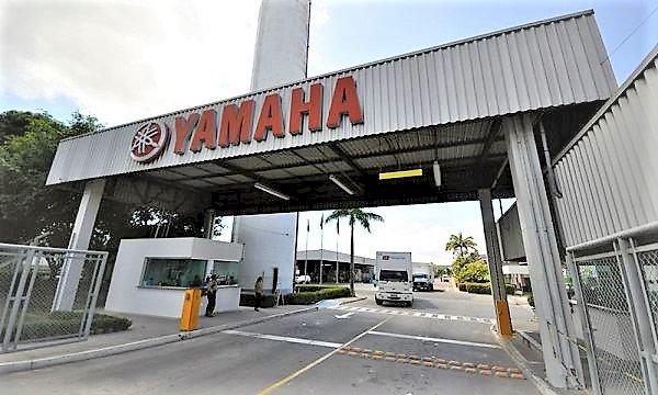 yamaha anuncia paralisação de produção