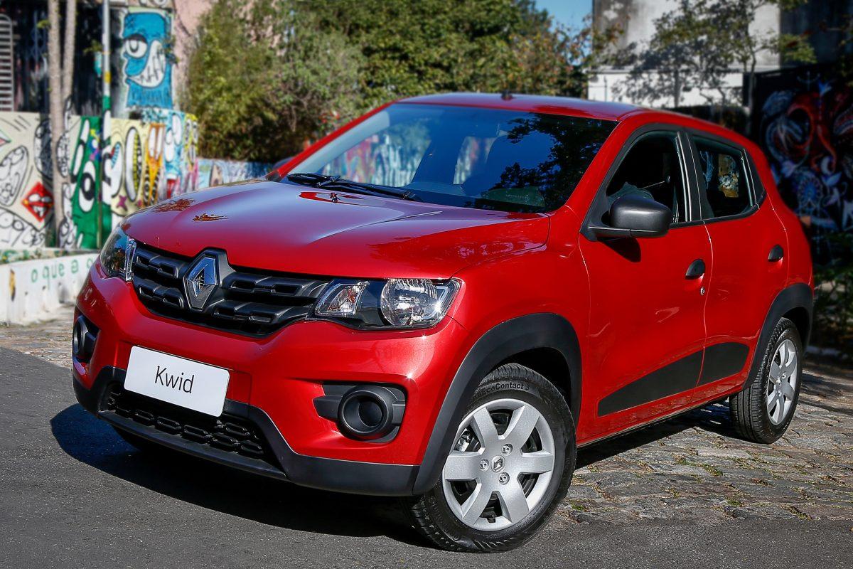 Consumo dos 5 carros mais baratos do Brasil