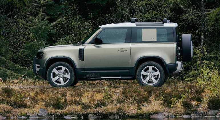 Land Rover Defender 90 tem preço de R$ 540 mil