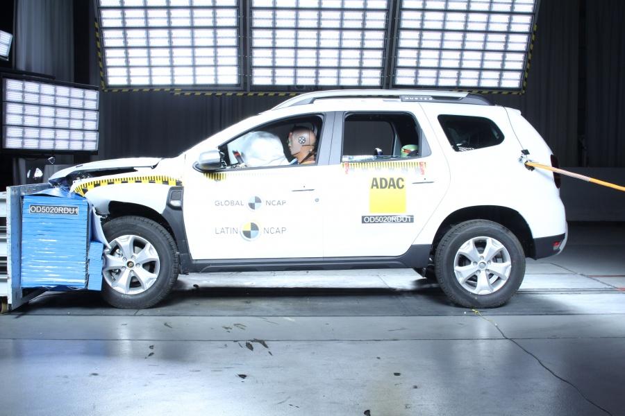 Renault Duster zera no Latin NCAP