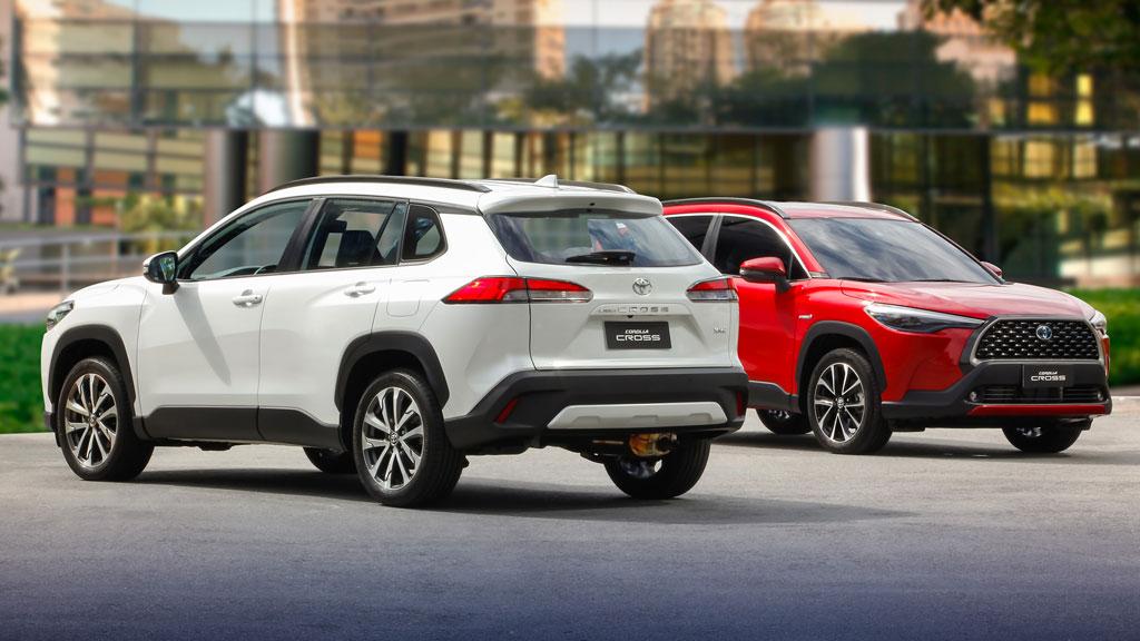 Toyota Corolla Cross 2022 chama atenção pelos motores 2.0L e 1.8L