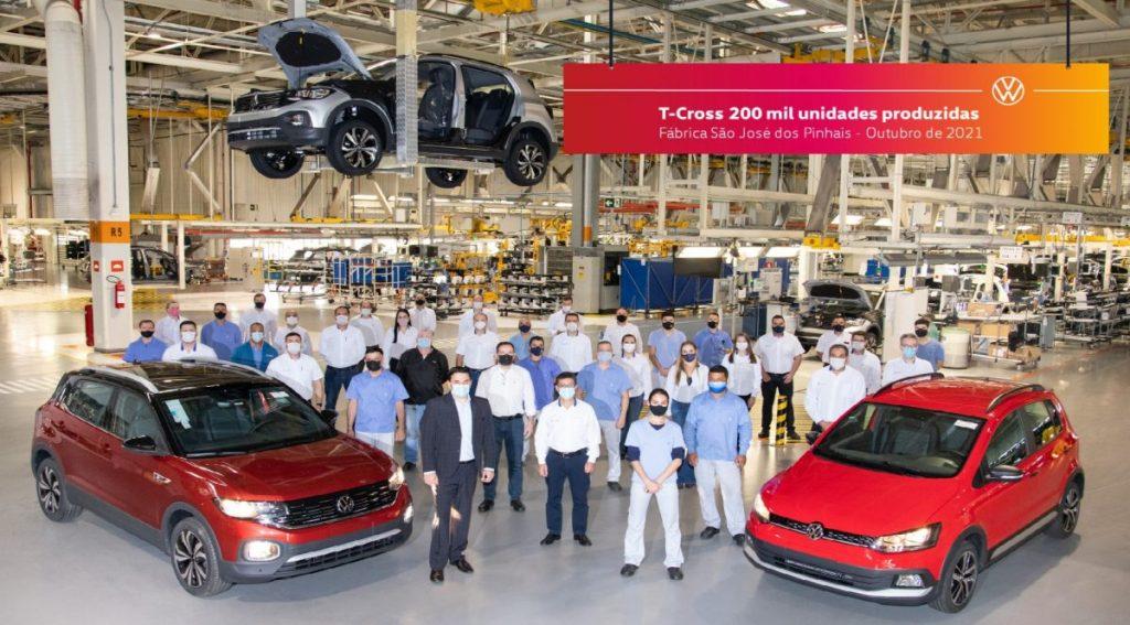 Fábrica da Volkswagen amplia planta para o VW T-Cross